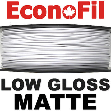 EconoFil™ Matte PLA - WHITE - 1.75mm
