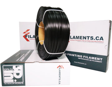 EconoFil™ 1KG REFILL Coil - ABS Filament - Black - 1.75mm