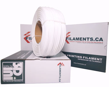 EconoFil™ 1KG REFILL Coil - ABS Filament - White - 1.75mm