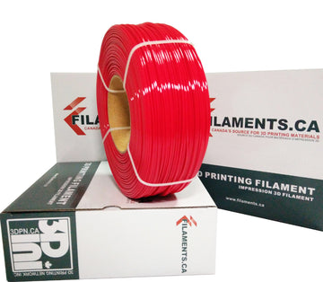 EconoFil™ REFILL Coil - PETG Filament - Red - 1.75mm - 1KG