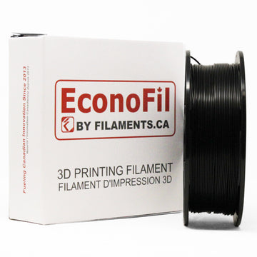 EconoFil™ Standard PLA Filament - Black - 1.75mm - 1KG