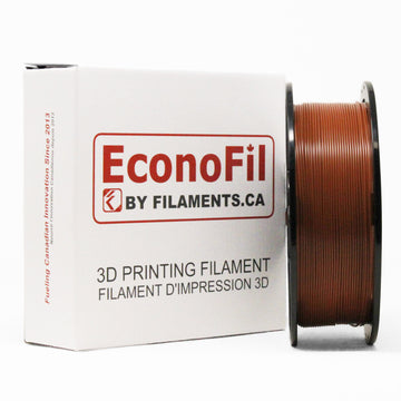 EconoFil™ Standard PLA Filament - Brown - 1.75mm - 1KG