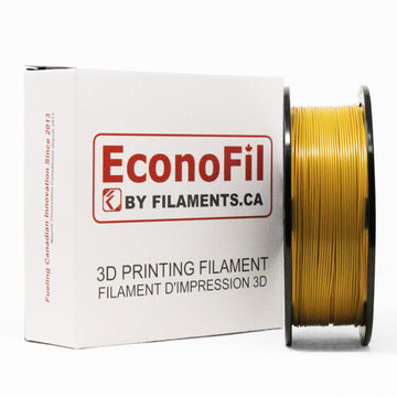EconoFil™ Standard PLA Filament - Dark Gold - 1.75mm - 1KG