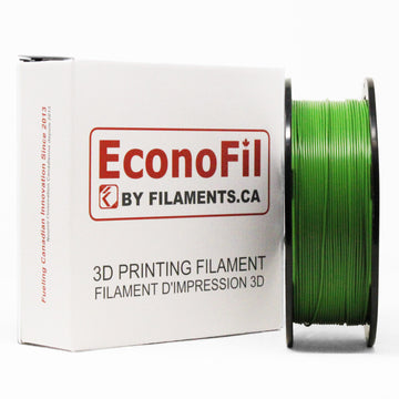 EconoFil™ Standard PLA Filament - Green - 1.75mm -1KG