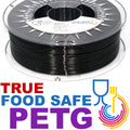 TRUE Food Safe PETG - Black Licorice - 1.75mm