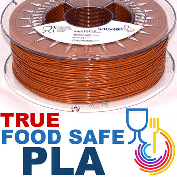 TRUE Food Safe PLA - Chocolate Brown - 1.75mm