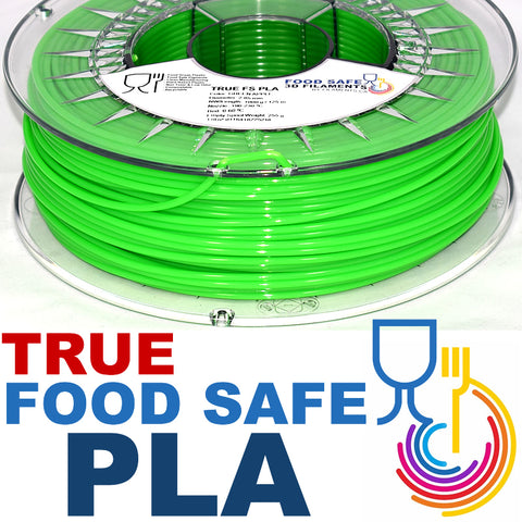 True Food Safe PLA 3D Printer Filament Canada