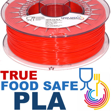 TRUE Food Safe PLA - Strawberry Red - 1.75mm