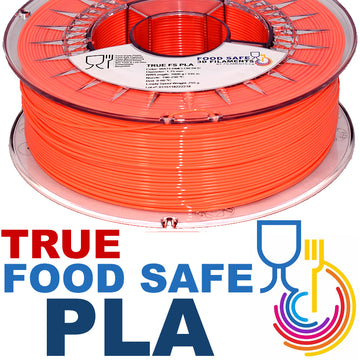 TRUE Food Safe PLA - Watermelon Red - 1.75mm