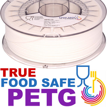 TRUE Food Safe PETG - Eggshell White - 1.75mm