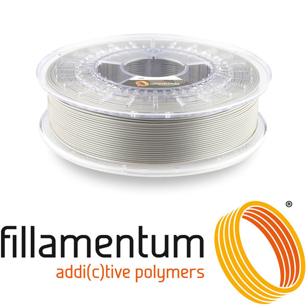 Fillamentum ABS Extrafill Metallic Grey 3D Filament Canada