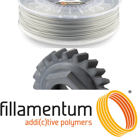 Fillamentum Canada ASA 3D Filament Metallic Grey