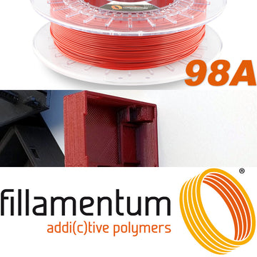 Flexfill 98A - Signal Red - 2.85mm