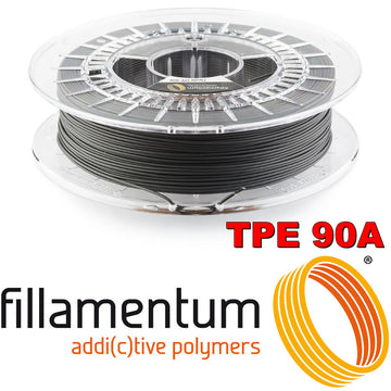 Flexfill TPE 90A - Traffic Black - 1.75mm