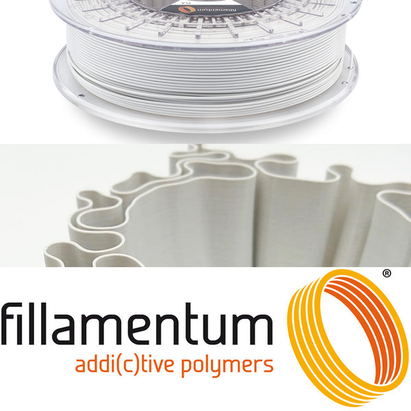 Fillamentum Electric Grey PLA 3D Filament Canada