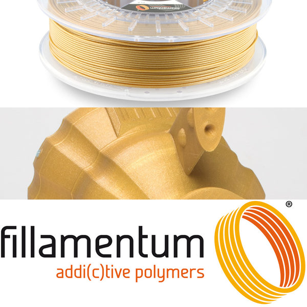Fillamentum Gold Happens PLA 3D Filament Canada