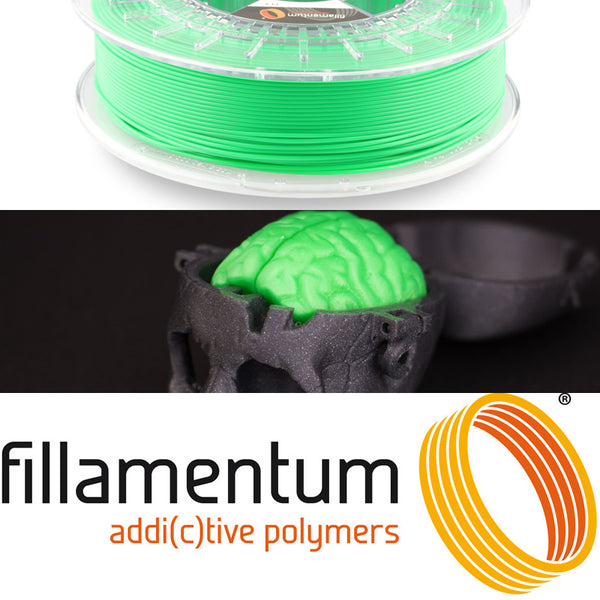 Fillamentum Luminous Green PLA 3D Filament Canada
