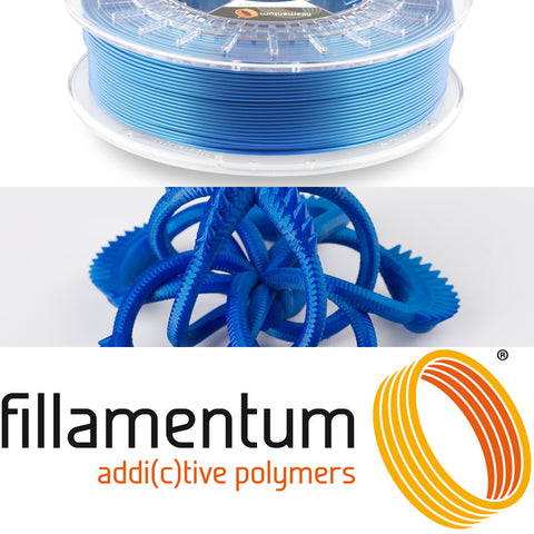 Fillamentum Noble Blue PLA 3D Filament Canada