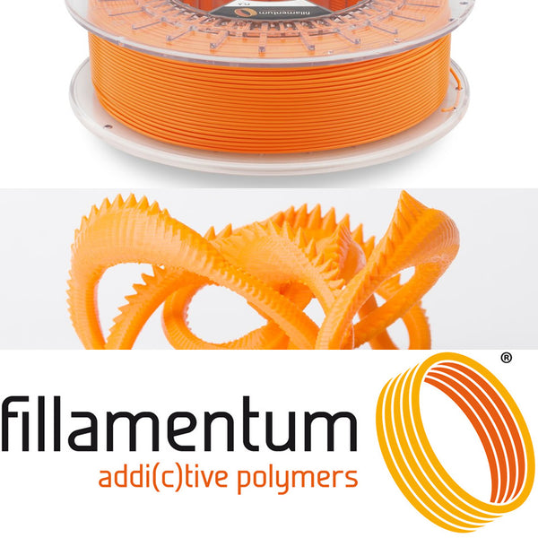 Fillamentum Orange Orange PLA 3D Filament Canada