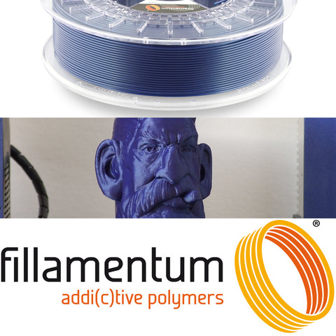 Fillamentum Pearl Night Blue PLA 3D Filament Canada