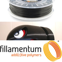 Fillamentum Traffic Black PLA 3D Filament Canada