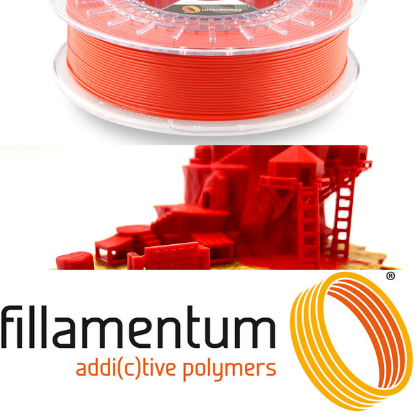 Fillamentum Traffic Red PLA 3D Filament Canada