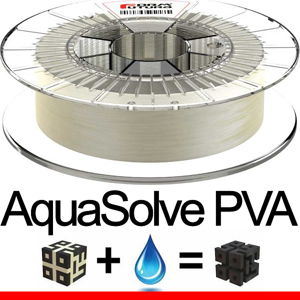 FormFutura AquaSolve PVA Water Soluble 3D Printer Filament Canada
