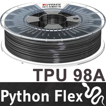 Python Flex TPU - Black - 1.75mm