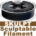 Thibra3D SKULPT Sculptable Filament - Black - 1.75mm