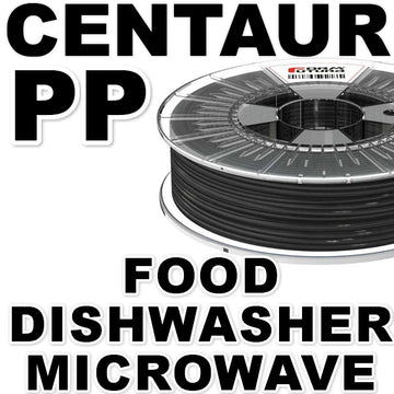 Centaur (PP) Polypropylene Filament - Black - 1.75mm