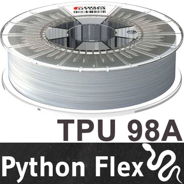 Python Flex TPU - Clear - 1.75mm