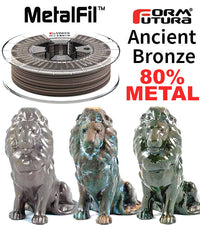 FormFutura MetalFil Ancient Bronze 3D Filament Canada
