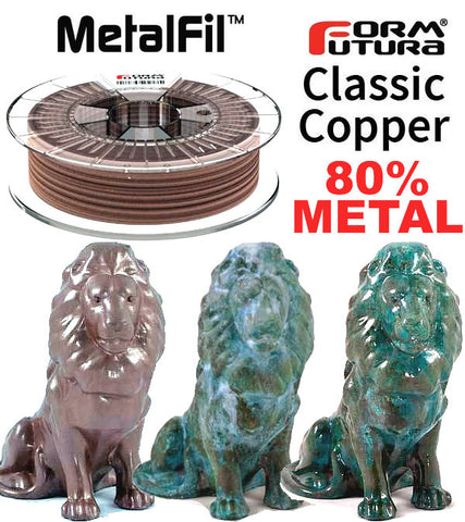Formfutura MetalFil Copper 3D Printer Filament Canada