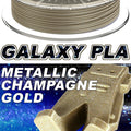 Galaxy PLA Metallic - Champagne Gold - 2.85mm