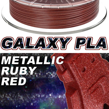 Galaxy PLA Metallic - Ruby Red - 2.85mm