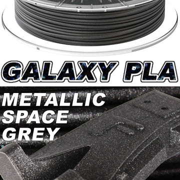 Galaxy PLA Metallic - Space Grey - 2.85mm
