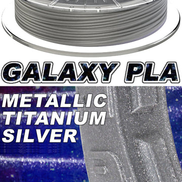 Galaxy PLA Metallic - Titanium Silver - 2.85mm