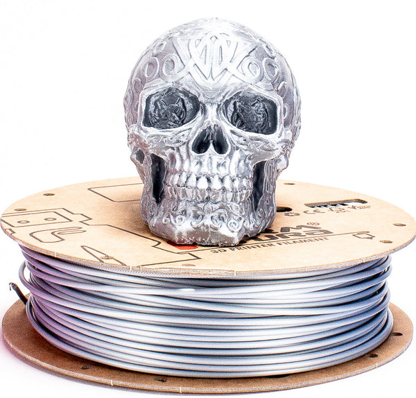 Silk Gloss PLA - Brilliant Silver - 1.75mm