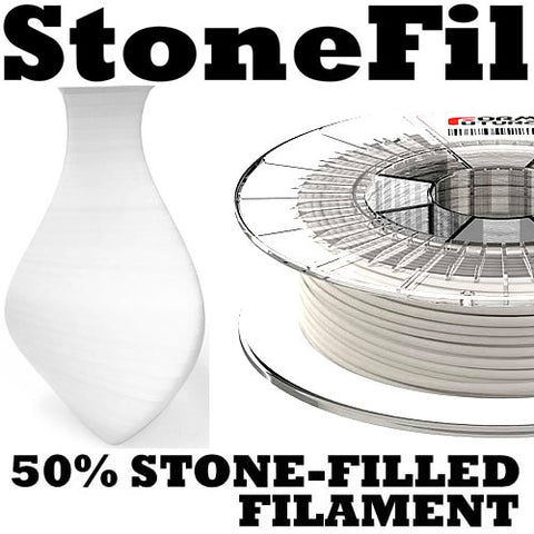 FormFutura StoneFil Stone 3D printer Filament Canada