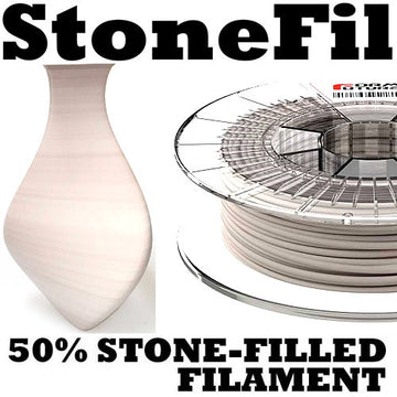 StoneFil Stone Filament - Pottery Clay - 1.75mm