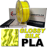 Glossy Silk PLA 3D Printer Filament Canada