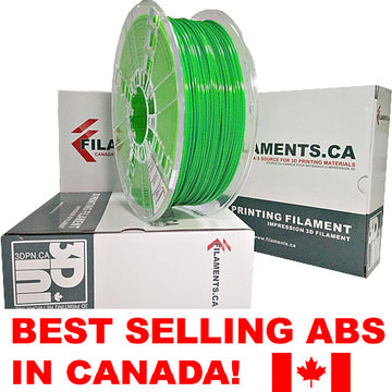 ABS Filament - GREEN - 2.85mm