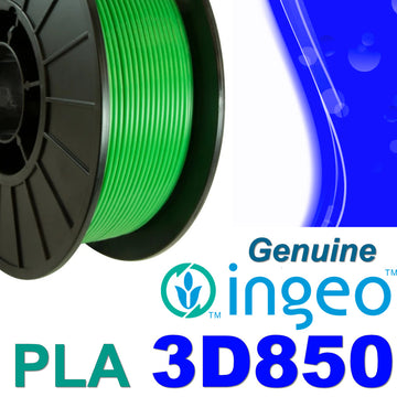 Genuine INGEO PLA 3D850 Filament - Green - 1.75mm