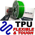 Polyurethane TPU Filament - GREEN - 2.85mm