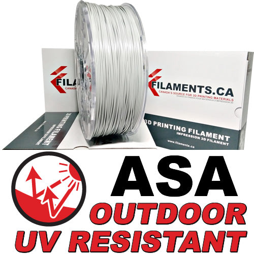ASA UV resistant 3D printer filament Canada