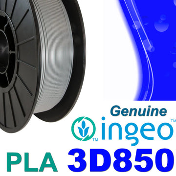 Genuine INGEO PLA 3D850 Filament - Grey - 1.75mm