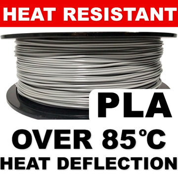 Heat Resistant PLA - Grey - 2.85mm