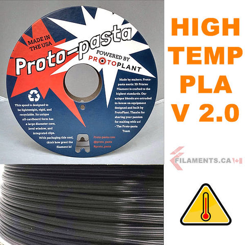 high temperature PLA 3D Printer filament - Proto Pasta - Canada