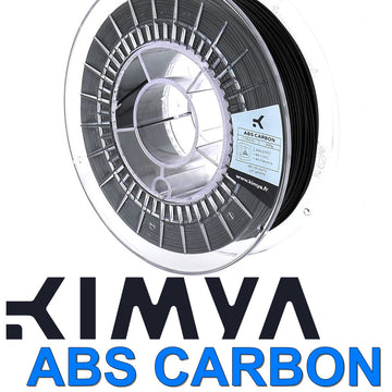 Kimya ABS Carbon 3D Filament - Black - 2.85mm