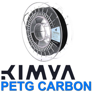 Kimya PETG Carbon 3D Filament - Black - 1.75mm